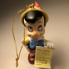 Christmas Magic Disney Pinocchio 26231 Vintage Grolier Ornament Figurine 116