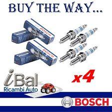 BOSCH 4 CANDELE D'ACCENSIONE AUDI A3 (8P1) 1.4 TFSI 92KW - 0242240665