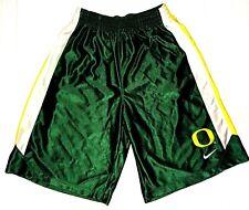 Oregon Ducks Nike Basketball Football Workout Shorts 2 Pockets Drawstring Size M