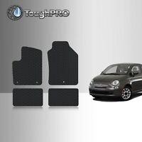 Fit Fiat 500 Luxurious custom Carpets Liner waterproof Hatchback Car Floor Mats