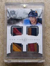 10-11 UD The Cup Quad Foundation Patch EVANDER KANE /10