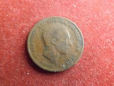 * españa 10 centimos 1877 * Alfonso XII. (box 2)