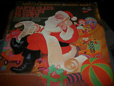 santa claus is coming to town lp don janse rare mr. pickwick vg+ record album