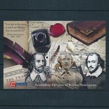 [CU210] Curacao 2014 William Shakespeare Souvenir Sheet MNH