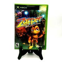 Zapper One Wicked Cricket Microsoft Xbox Very Good Infogames 2002 No Manual