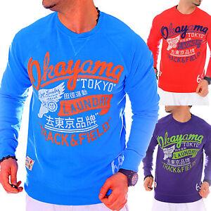 Blackrock Herren Sweatshirt Langarm Shirt Clubwear Hoodie Longsleeve Freizeit