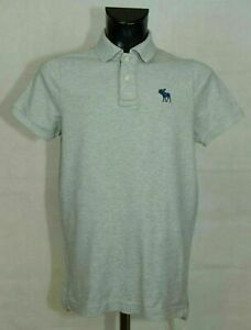 MENS ABERCOMBIE AND FITCH TOP COTTON SIZE L MUSCLE ( LABEL XXL ASIA) EXCL