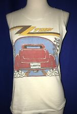 vintage 1983 Zz Top Eliminator 500 Tour Concert Tshirt Sleeves Cut Large shirt