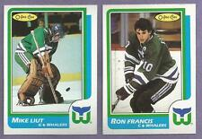 1986-87 OPC O-PEE-CHEE Hartford Whalers Team Set