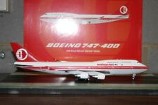 """JC Wings 1:200 Malaysia Airlines Boeing 747-400 9M-MPP """"Retro"""" (LH2009) Die-Cast"""
