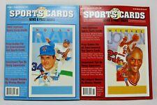 Allan Kaye's Sports Card Price Guides October/November 1991 #1 Jordan & Ryan NM