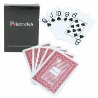 Jumbo Index Poker 100% PLASTIC Deck Playing Cards Poker Standard Casino Sal G9S8