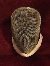 Vintage Esgrima pista Protector. pantalla, Máscara de luz ornamentales.