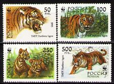 Russia 1993 Sc6181a Mi343-46 4v mnh Ussuri Tigers