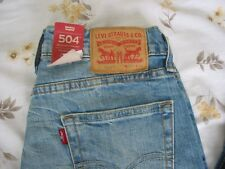 BNWT MENS LEVIS STRAUSS RED TAB DENIM JEANS 504 VARIOUS SIZE TO CHOOSE