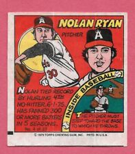 1979 Topps Baseball Comics Singles Complete Your Set Pick From List EXC