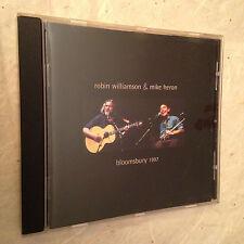 ROBIN WILLIAMSON & MIKE HERON CD BLOOMSBURY 1997 PWMD5006 1998 FOLK