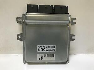 2014 Infiniti Q50 3.7L Electronic Engine Control Module ECM #NEC005698