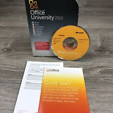 Microsoft Office University 2010 For Faculty/University/College Students w/ PIN