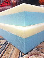 (Make Your Own Mattress) MEMORY FOAM AND REFLEX FOAM COMBINED CUT IN ANY SIZES