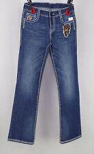 Ladies Azztro Star Jeans Mars Cheetah Heavy Stitch Jeans Size 26