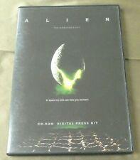 Alien The Director's Cut Movie Digital Press Kit Sigourney Weaver CD