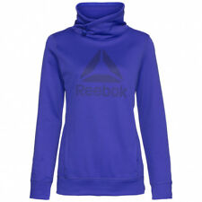 Ladies Women's Reebok Hoody Hooded Sweater Hoodie Jumper Sweatshirt Jacket S
