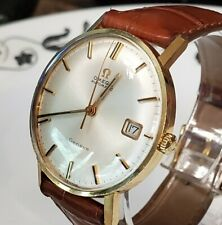 Beautiful near mint Vintage 18k Solid Gold Omega Seamaster Wristwatch  cal.565