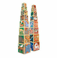 Melissa and Doug Wooden Animal Nesting Blocks - 14207 - NEW!