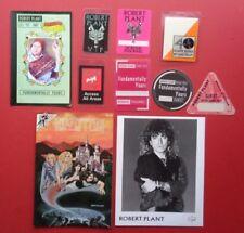 1977 Concert Handbill Postcard Approx 3.5x5.5 Inches Led Zeppelin June 21-27