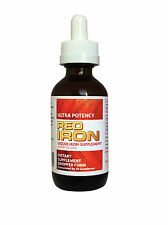 RED IRON Natural Supplement 60ml ,high potency, fast acting, no constipation