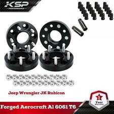 5x4.5 to 5x4.5 (5x114.3mm) Wheel Spacers For Tacoma+M12x1.5 Wheel Lug Nuts Black