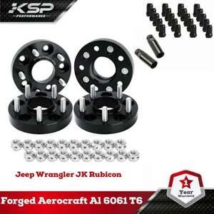 5x4.5 to 5x4.5 (5x114.3mm) Wheel Spacers For Tacoma+M12x1.5 Wheel Lug Nuts Black