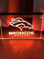 Denver Broncos Led Neon Light Sign 8x12