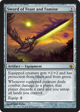 MTG Sword of Feast and Famine - Foil x1 Light Play, English Magic