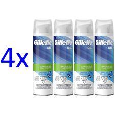 Gillette Gel Barbershop Fresh Men's Shave Gel for Sensitive Skin, 7oz (4-Pack)