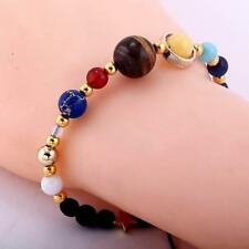 The Eight Planets Star Natural Q Handmade Solar System Bracelet Universe Galaxy