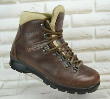 GARMONT Womens Brown Leather Outdoor Hiking Ankle Boots Italy Size 7.5 UK 41 EU
