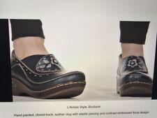 Women's Spring Step Dark Brown L'Artiste Burbank Slip-On Shoes EU 36/US 5.5-6