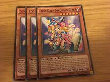 3 x Yu-Gi-Oh! Card, Dark Magician Girl, Common, DPBC-EN044. 1st Ed.