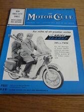 MOTOR CYCLE 8.09.60 BSA 350 SINGLE ROAD TEST jm