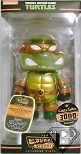 CLEAR MICHELANGELO Teenage Mutant Ninja Turtles Hikari Sofubi Vinyl Figure 2014