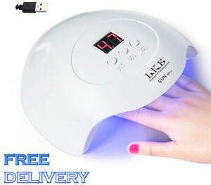 USB UV Nail Lamp Light Dryer Curing Shellac Polish Home Spa Salon Diy Machine
