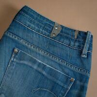 Vintage GStar Midge Straight Leg Jeans Blue Women's Waist 32 Leg 33 UK 14