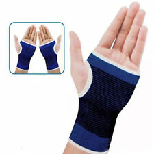 Blue Palm Hand Wrist Thumb Splint Brace Support Pain Relief Fits Left and Right