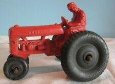 VINTAGE AUBURN Toys Vintage Rubber Farm red tractor balloon TIRES