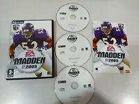 Madden 2005 EA Sports NFL Football Américain - Jeu De para PC 3 X Cd-Rom