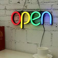 Open Business Sign Neon Lamp Type 3 Ultra Bright Led Store Shop Advertising Lamp