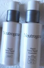 OUT OF BOX-Neutrogena Rapid Tone Repair NIGHT & DAY, SPF 30, w/HYALURONIC ACID