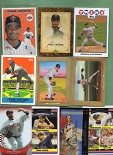 Johan Santana (Minnesota Twins/N.Y. Mets) 19 Card lot w/Fleer Tradition Rookie